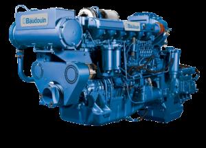 6W126M Baudouin Genrep engine