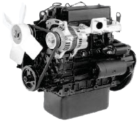 L-Series Mitsubishi diesel engine