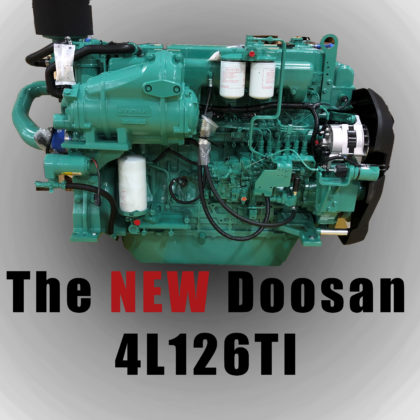 Doosan Marine 4L126 450 HP 11L